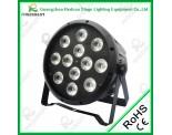 12PCS LED NEW Plastic Par Light-4IN1/5IN1